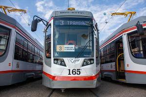 В Краснодаре вышли на маршрут новые трамваи ©Фото Дмитрия Пославского, Юга.ру