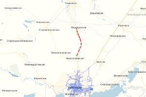 Примерное указание участка, который планируют реконструировать ©Скриншот сервиса «Яндекс. Карты»