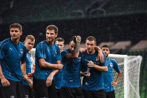 Открытая тренировка ФК «Краснодар» ©Фото Елены Синеок, Юга.ру