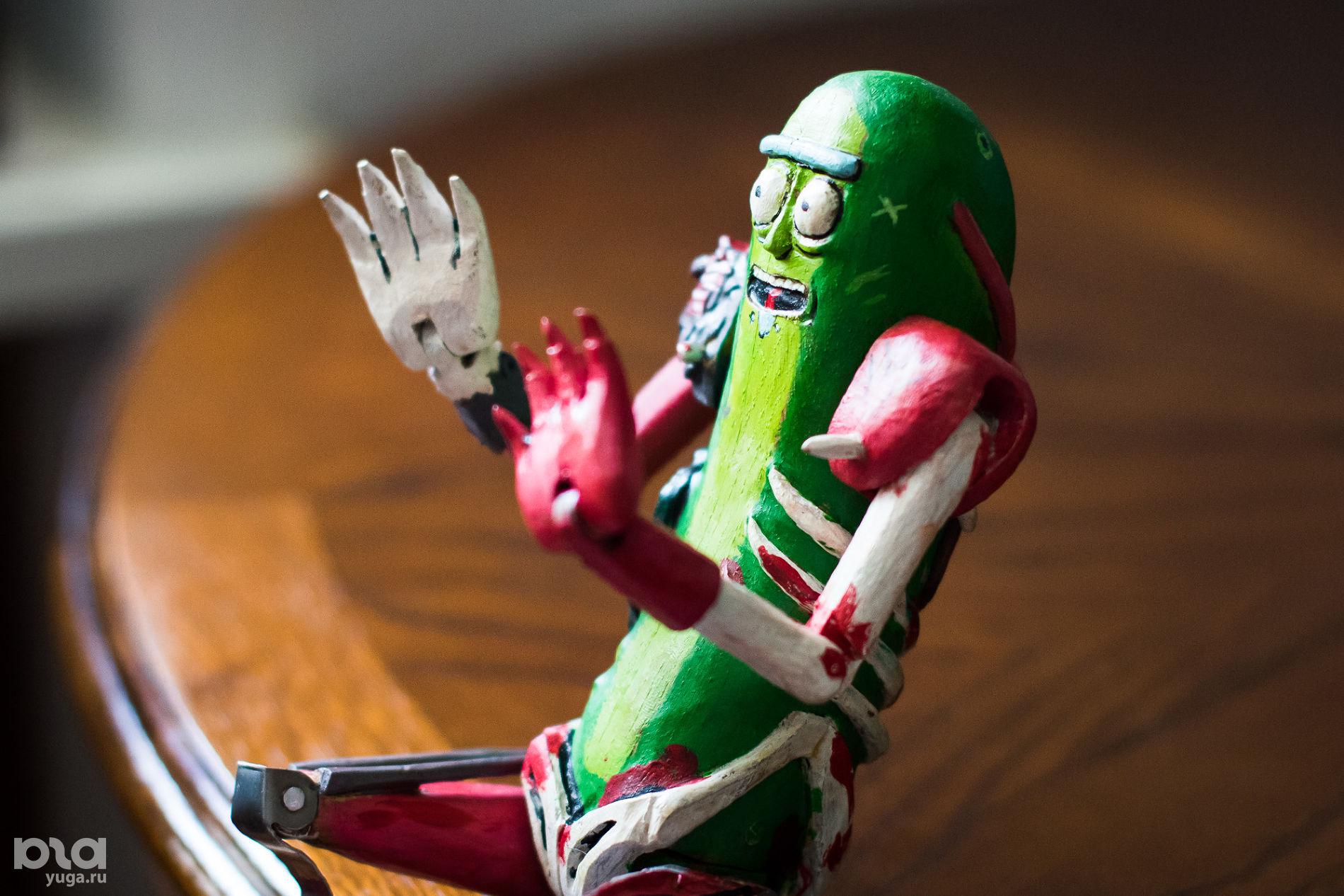 Пикл Рик. Интересная профессия: кукольник Николай Стежкин ©Фото Елены Синеок, Юга.ру
