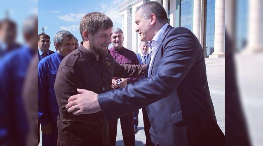Рамзан Кадыров и Сергей Аксенов ©Фото: instagram.com/Kadyrov_95