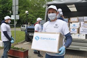 Волонтеры «ЕвроХима» ©Фото Антона Быкова