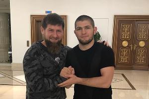 Рамзан Кадыров и Хабиб Нурмагомедов ©Фото со страницы instagram.com/khabib_nurmagomedov