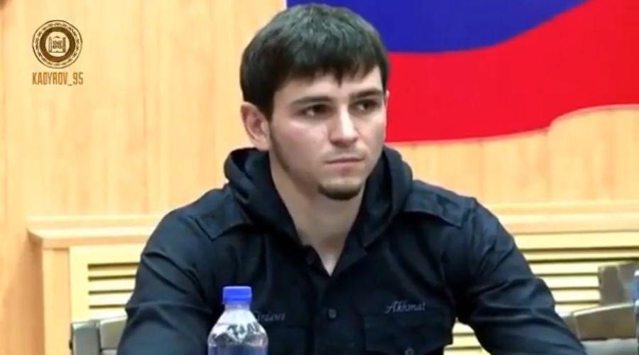 Хасмагомед Кадыров ©Скриншот из видео