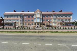 Тахтамукайская центральная районная больница ©Фото пресс-службы главы Республики Адыгея