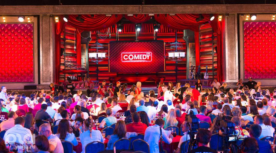 """Фестиваль """"Неделя высокого юмора"""" от Comedy Club в Сочи ©Нина Зотина, ЮГА.ру"""