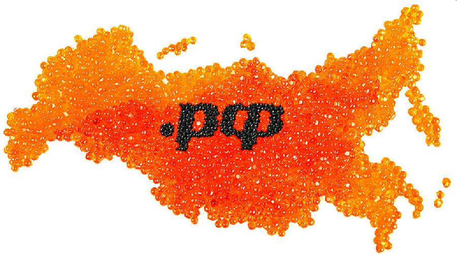 Фирменный стиль домена .РФ ©Фото Юга.ру