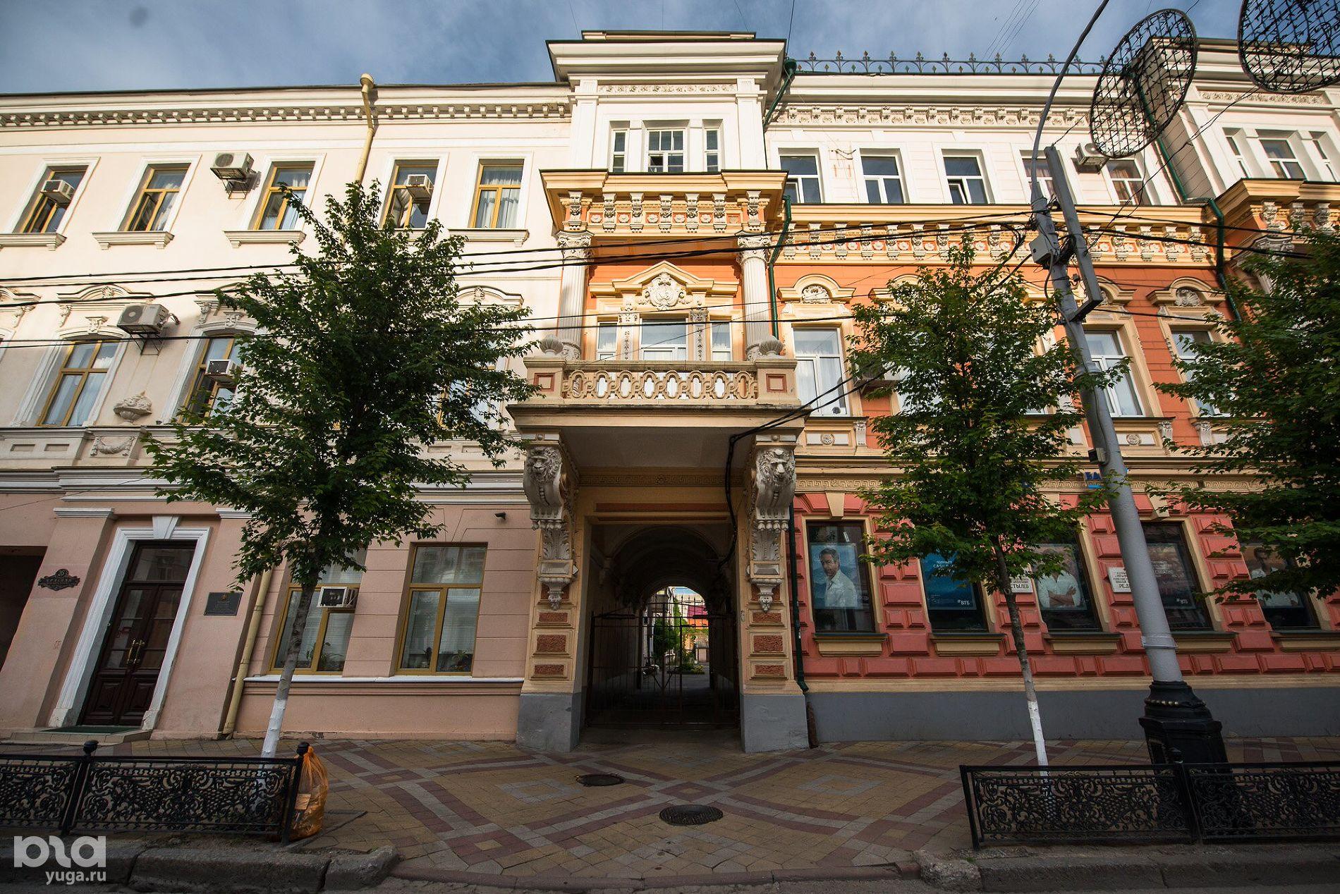 Детская библиотека имени братьев Игнатовых ©Фото Елены Синеок, Юга.ру