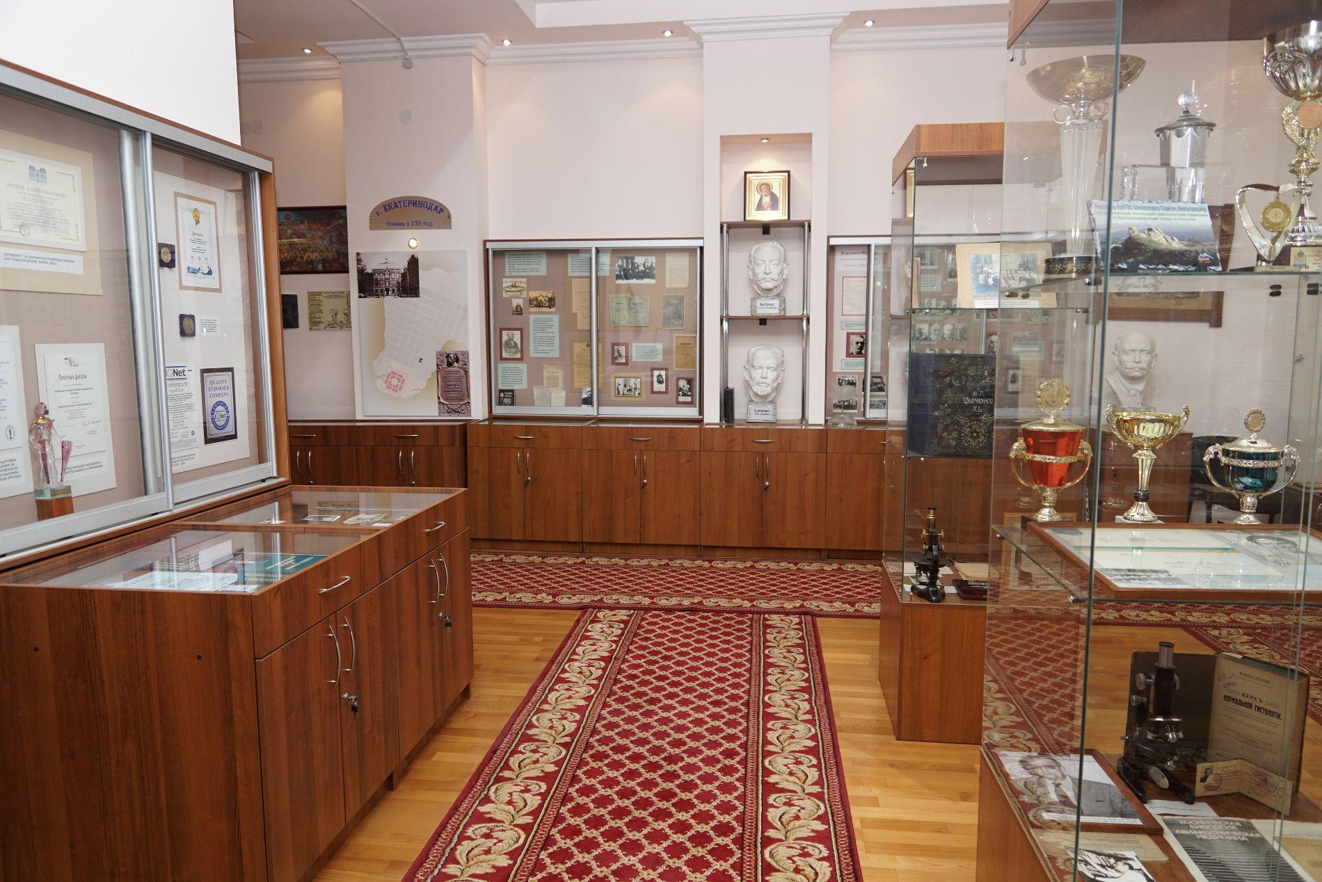 Музей КубГМУ ©Фото предоставлено пресс-службой КубГМУ