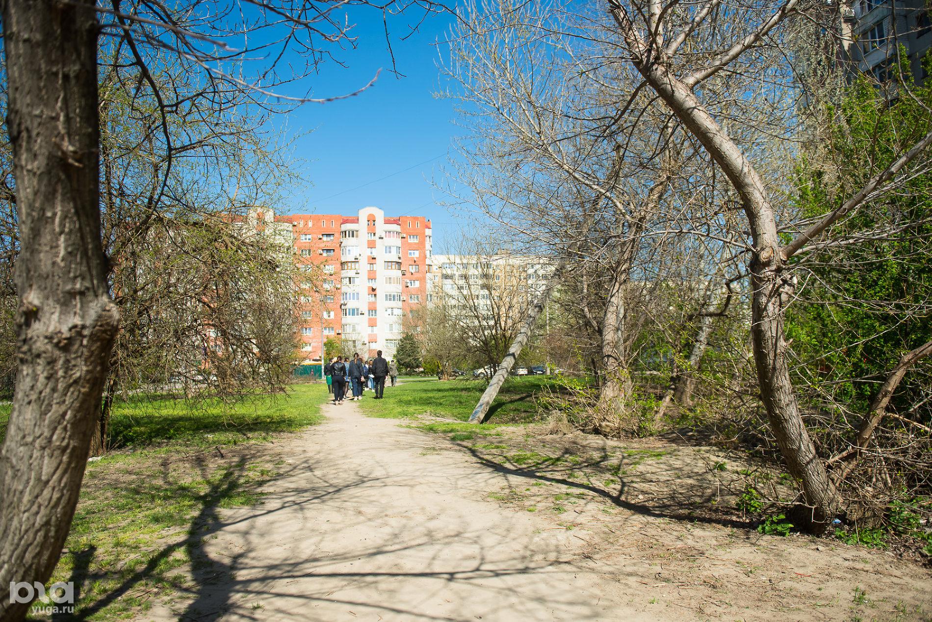 Сквер «Школьный», Юбилейный микрорайон ©Фото Елены Синеок, Юга.ру