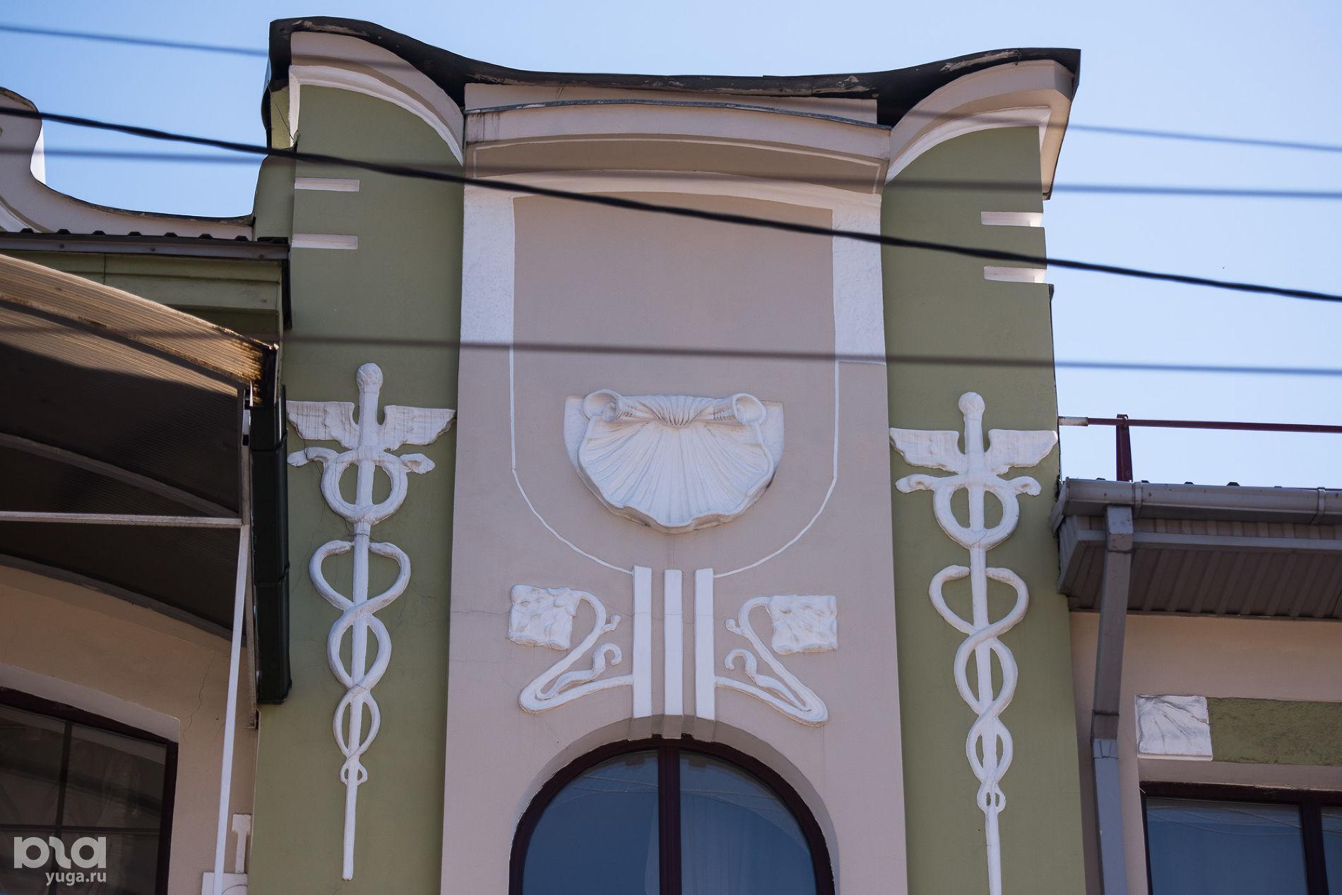 Баня купца А.Д. Адамули, 1881 год, ул. Октябрьская, 64 ©Фото Елены Синеок, Юга.ру