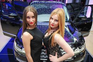 "Премьера Range Rover LWB и F-Type Coupe в ""Юг-Авто"" ©Елена Синеок, ЮГА.ру"