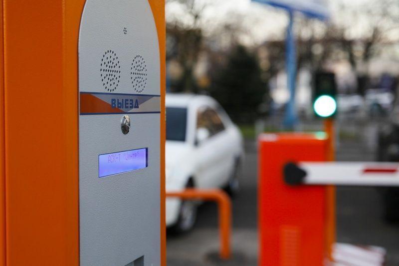 ВКраснодаре паркоматы перевели набезналичный расчет