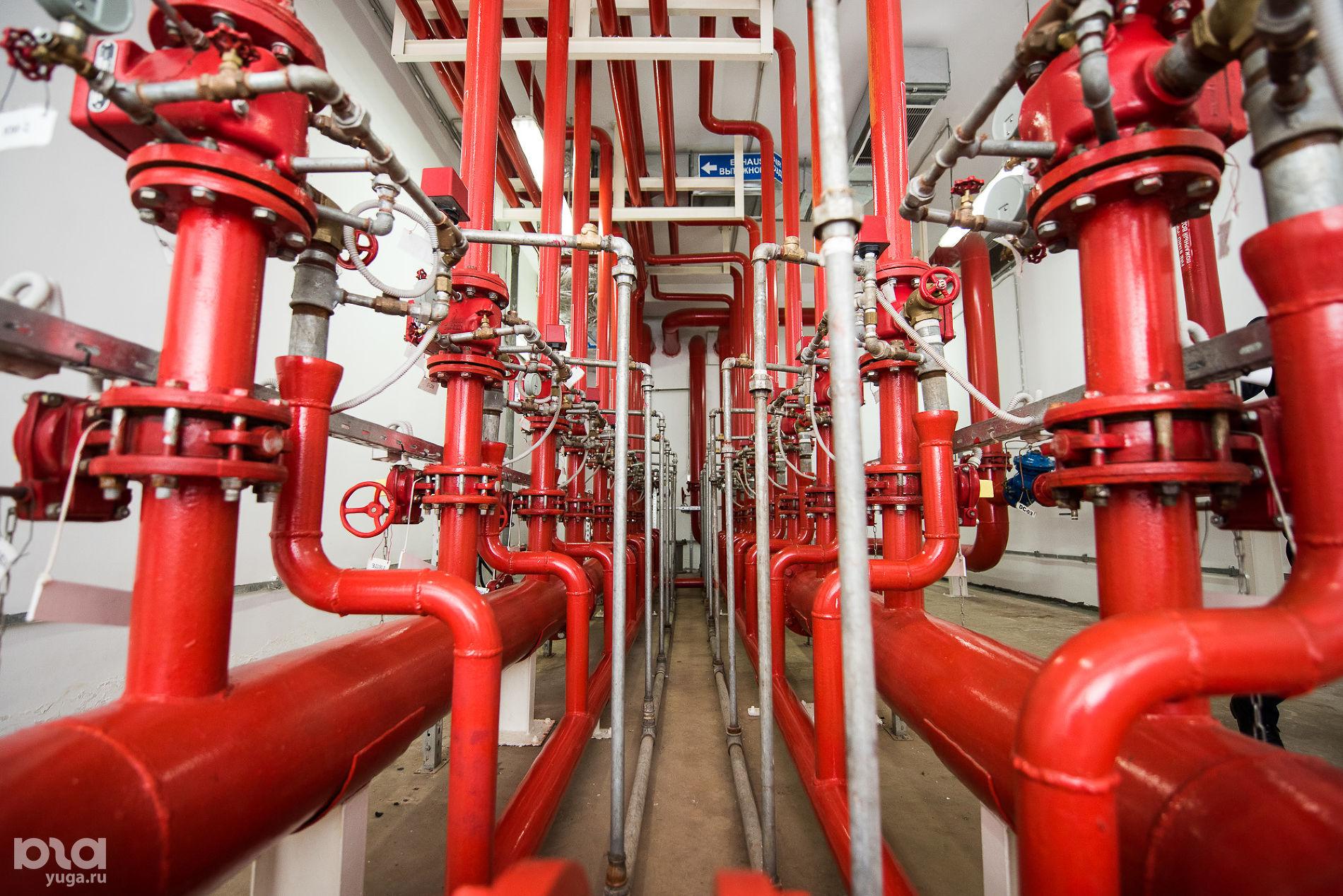 Технический этаж OZ МОЛЛ ©Фото Елены Синеок, Юга.ру