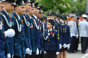 Парад в честь Дня Победы в Новороссийске ©Фото Виталия Тимкива, Юга.ру