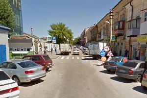 Улица Тургеневская в Ростове-на-Дону ©Скриншот панорамы карт Google