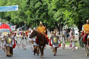 Карнавал в честь 220-летия А.С. Пушкина ©Фото пресс-службы МО Тбилисский район