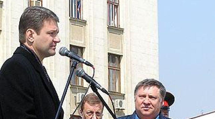 Александр Ткачев и Александр Аполлонов ©Фото Юга.ру