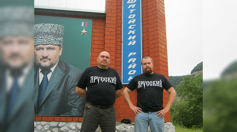 Дмитрий Демушкин в Чечне ©Фото Юга.ру