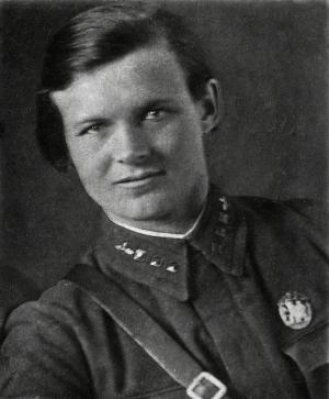 Командир авиаотряда Евдокия Бершанская