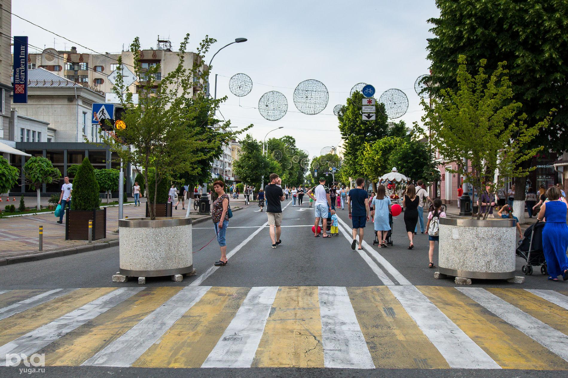Улица Красная ©Фото Елены Синеок, Юга.ру