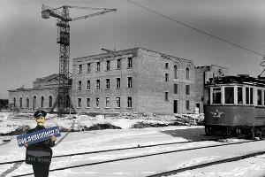 Строительство ДК ЗИП, зима 1956–1957 ©Фото с сайта myekaterinodar.ru
