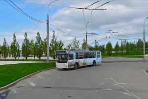 Троллейбус № 11 ©Фото пресс-службы администрации Краснодара