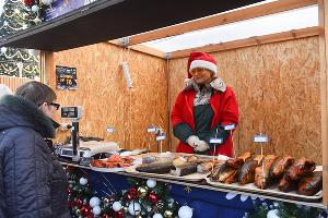 Парад Дедов Морозов и открытие рождественской ярмарки в Краснодаре ©Фото Елены Синеок, Юга.ру