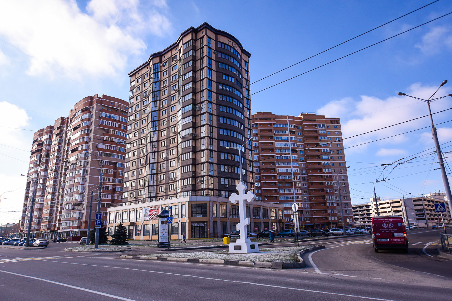 Юбилейный микрорайон (ЮМР) ©Фото Елены Синеок, Юга.ру
