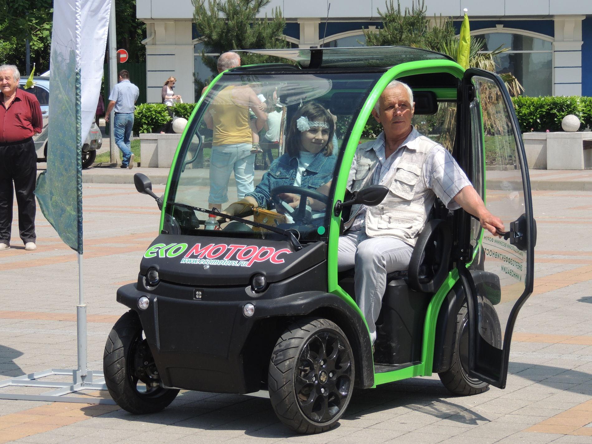 ВСочи организуют «зеленые зоны» для заезда  электромобилей
