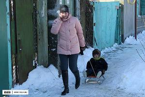 Зима в Краснодаре ©Фото Юга.ру