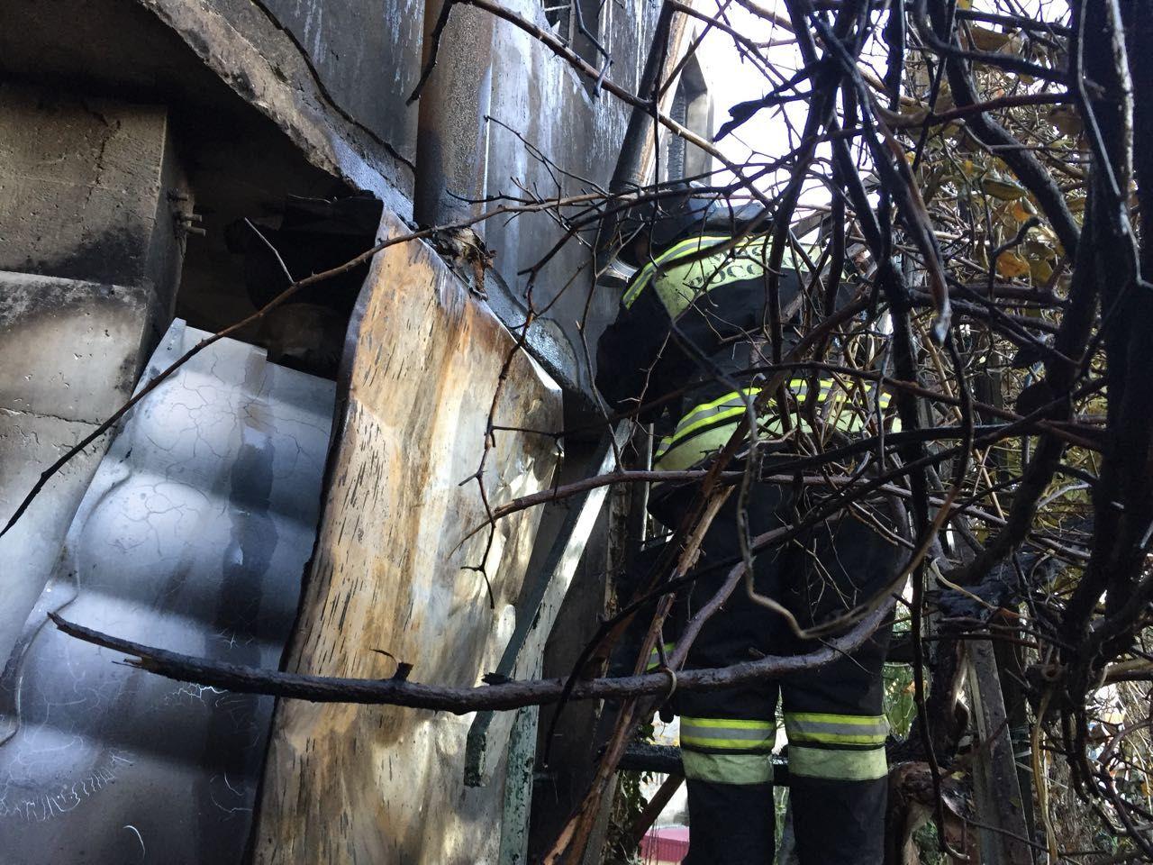 Впожаре в личном доме вСочи сгорели две женщины