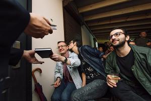 Презентация книги Валерия Нугатова «ЕДОДОЙ!». Краснодар, Larina Open Space, 11 сентября 2021 года ©Фото Лилии Штеклецкой
