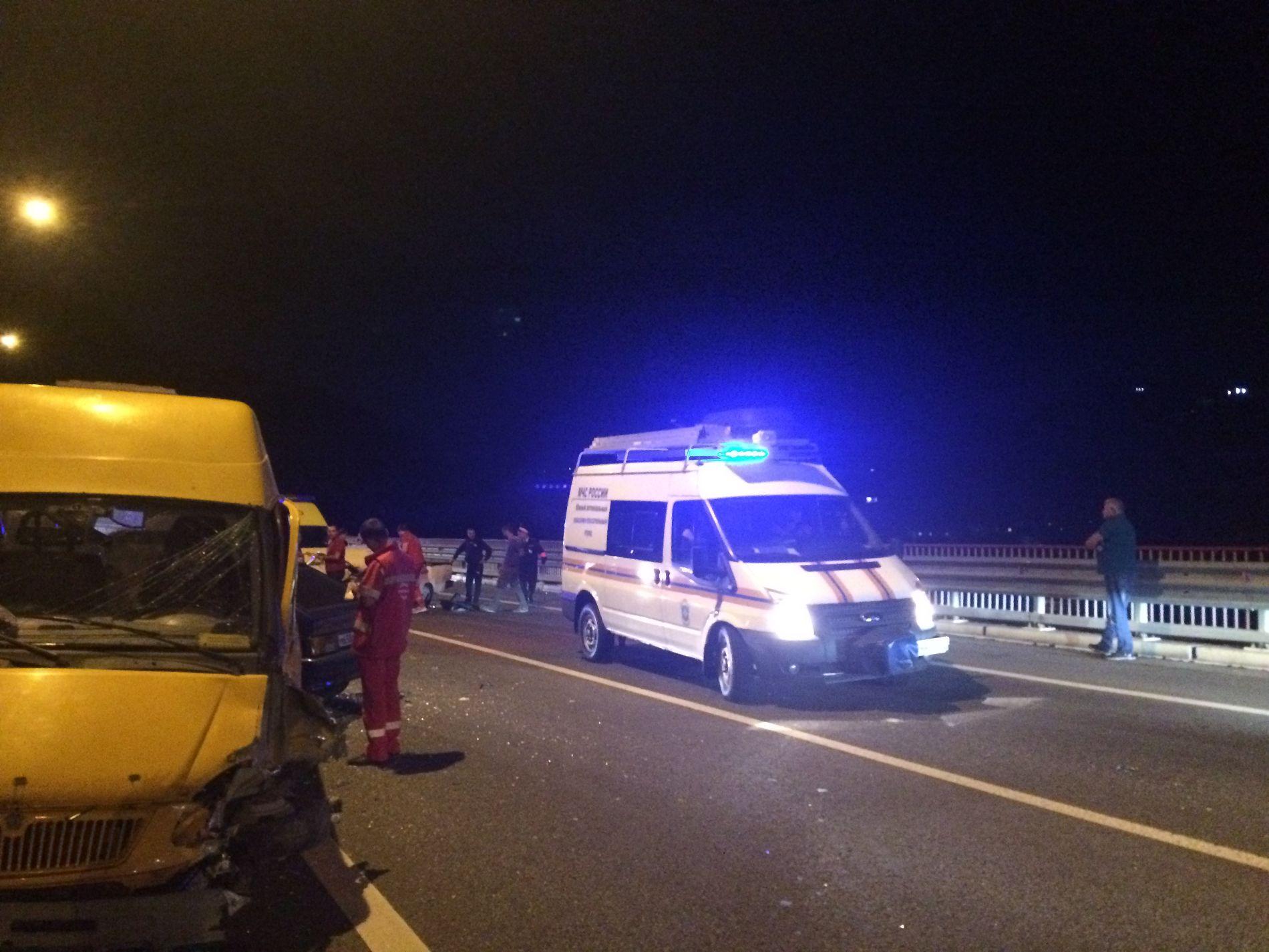ВСочи вДТП стремя машинами пострадал местный гражданин