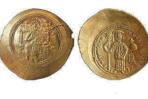 Гистаменон Никифора III Вотаниата (1078‒1081) ©Фото пресс-службы института археологии РАН