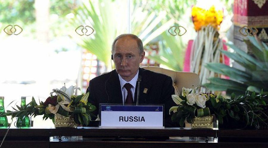 Владимир Путин на саммите АТЭС ©пресс-служба Кремля