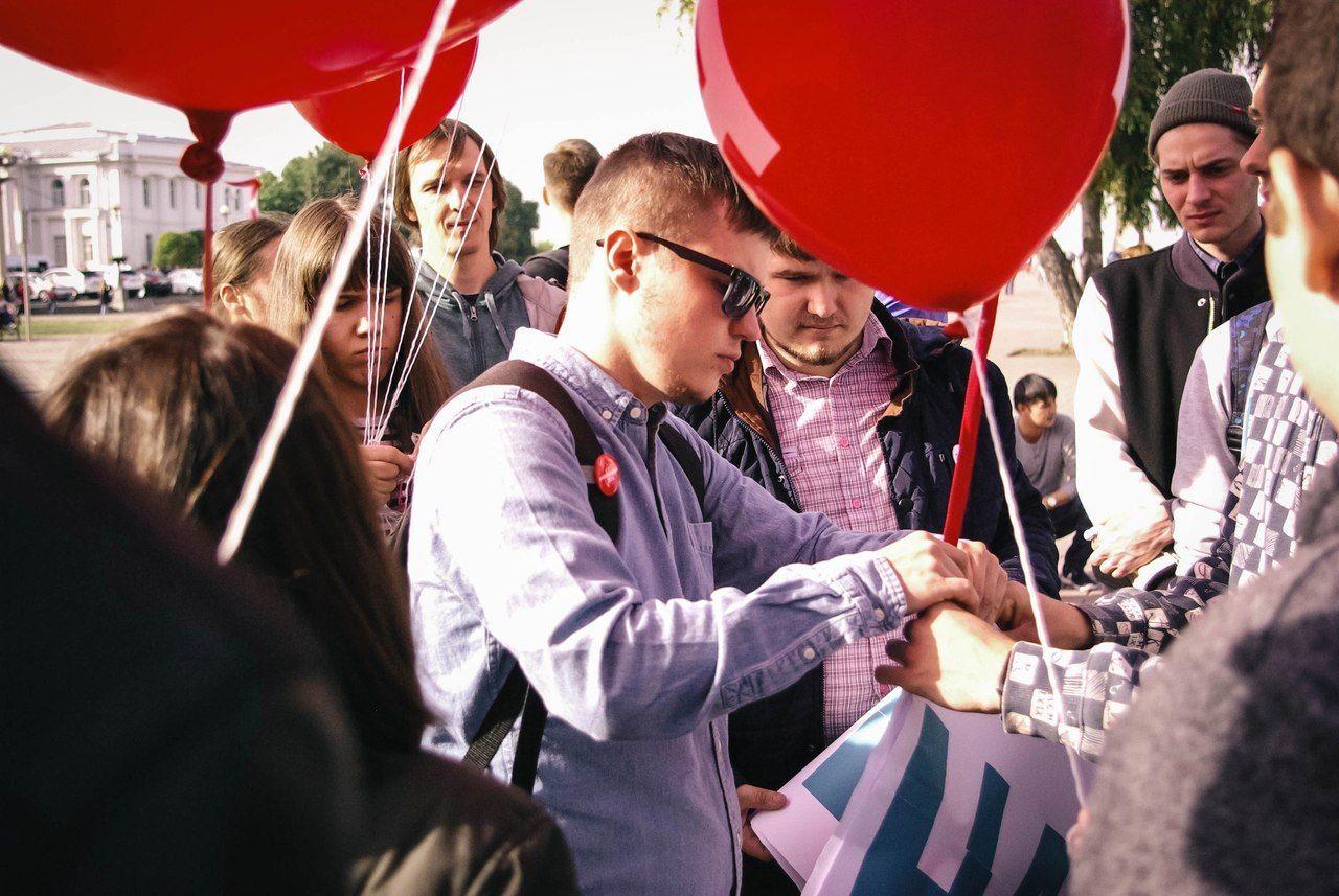 ВСтаврополе активист оштрафован на150 тыс. руб. заакцию 7октября