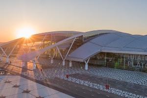 Ростовский аэропорт Платов  ©Фото с сайта platov.aero