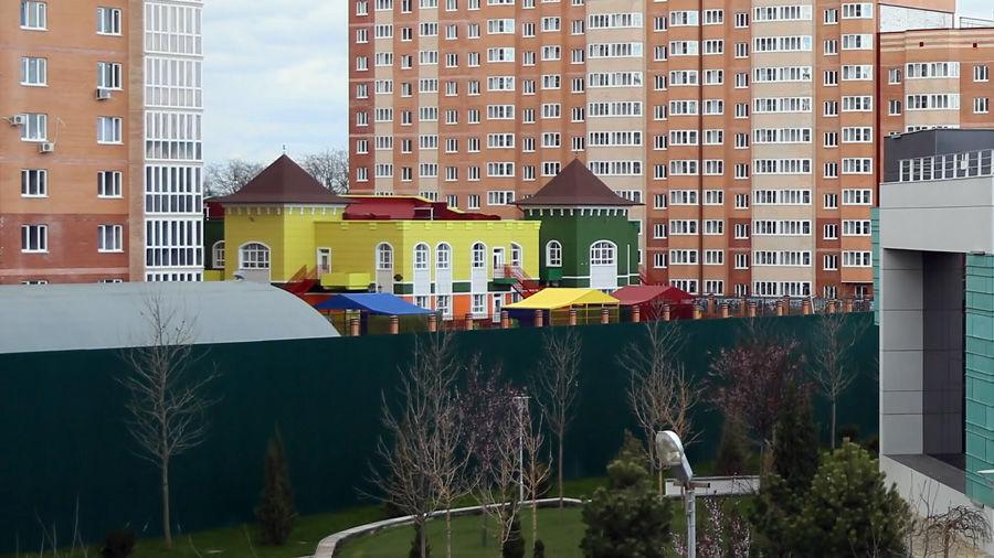 Вид на окрестности стадиона «Краснодар», 2016 год ©Кадр из видео канала Артемия Лебедева на Ютубе, youtube.com/temalebedev