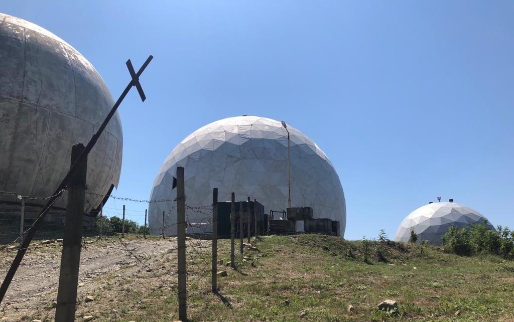 Радарный комплекс на горе Колдун в Новороссийске ©Фотография предоставлена Ольгой Шевчук