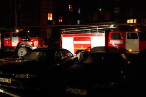 Пожар в  6-этажном жилом доме на ул. Концевича, 4  ©Влад Александров, ЮГА.ру