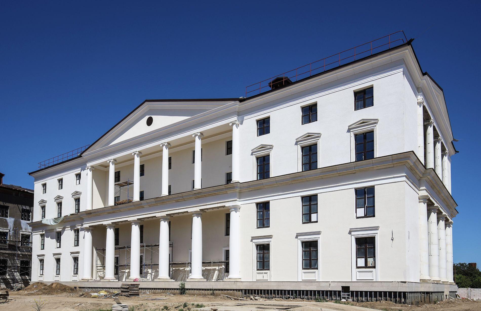 Четырехэтажный кампус рассчитан на проживание 200 человек на условиях полного пансиона ©Фото пресс-службы фонда «Вольное дело»