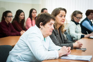 Открытие модернизированной аудитории для кафедры нефти и газа в КубГТУ ©Фото Елены Синеок, Юга.ру