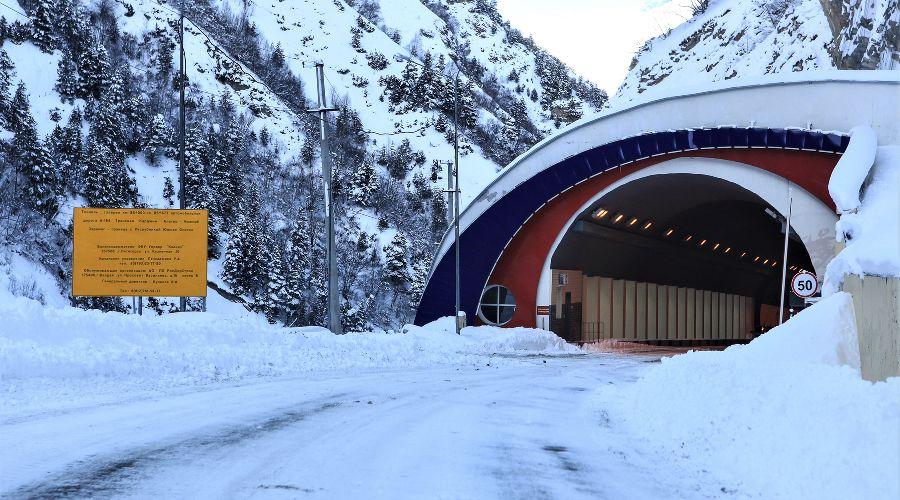 Рокский тоннель ©Фото пресс-службы ФКУ Упрдор «Кавказ»