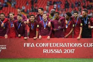 Сборная Португалии выиграла бронзу Кубка конфедераций ©Фото с сайта ru.fifa.com