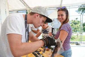 Фестиваль серф-культуры Locals Only в Сочи ©Фото Елены Синеок, Юга.ру