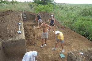 Полевые исследования Краснодарской археологической экспедиции НИИ археологии КубГУ ©Фото с сайта КубГУ, kubsu.ru