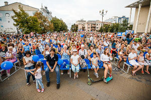 """Карнавал в честь """"Ночи кино"""" в Краснодаре ©ЮГА.ру"""