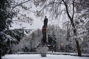 Памятник Екатерине II в Краснодаре  ©Елена Синеок, Юга.ру