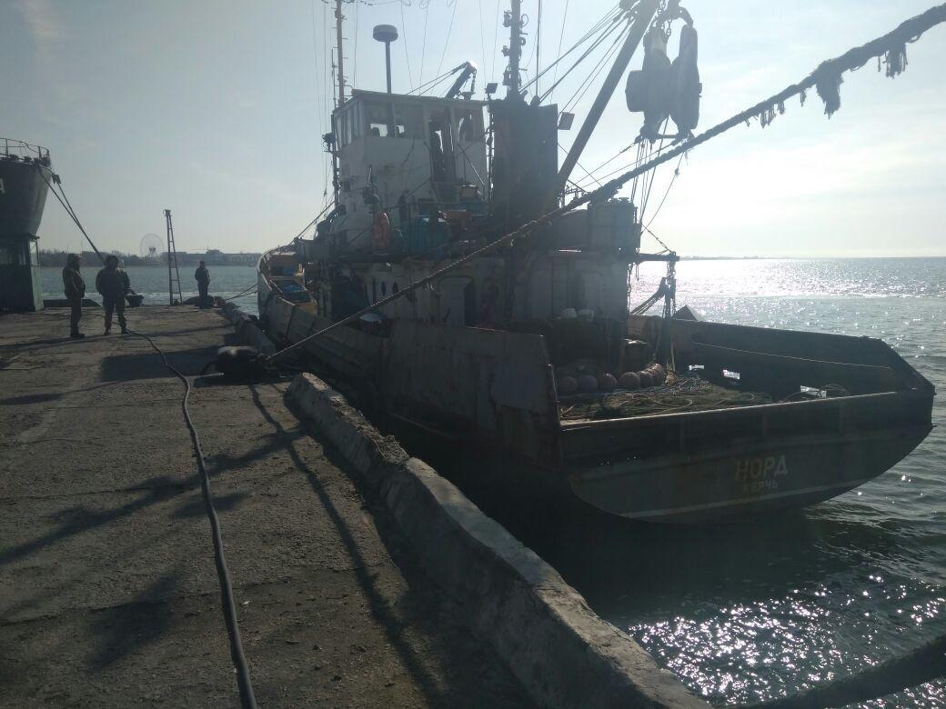 Киев опроверг договоренность о выходе в Крым экипажа «Норда»